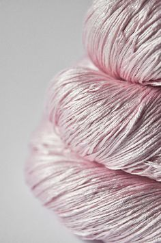 Fading Pink Rose-Lace Weight Yarn