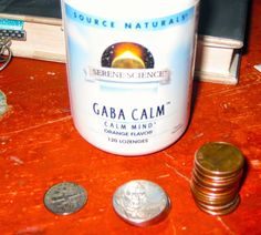 Found 45 Cents Today While Running Errands #foundmoney #gabacalm #gasstation #grocerystore #findingmoney
