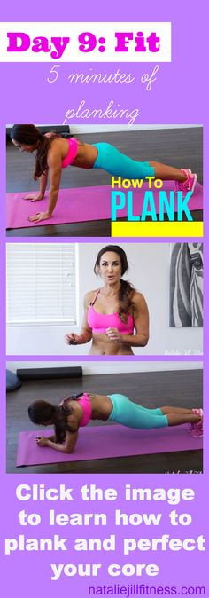 TODAY we are PLANKING. And YES you can! You can do this! 5 minutes is the goal! EVEN if you have to break it up into many 15 second segments throughout the day. Click on the image, watch the plank video FIRST, learn HOW to do this so it does not hurt your back and so it works your CORE! PLANKS can REALLY make a difference in your CORE and your ABS and can help to alleviate lower back pain and do this with me! WHO is in?