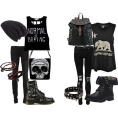 """""""It's a Black Out"""" by holiday-tomboy on Polyvore"""