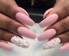 #Pink #Pretty #Nails P a l e P i n k ♡