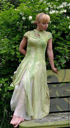 """Платья ручной работы. Ярмарка Мастеров - ручная работа Платье """"Лесная нимфа"""". Handmade."""