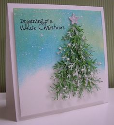 Dreaming of a White Christmas card by Loll