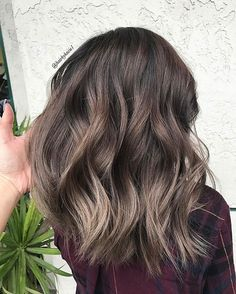 Babylights gives the perfect Ash.  Toned by @hairbypkilla  #teamkacie #modernsalon #americansalon #behindthechair #ashbrown #asianhair