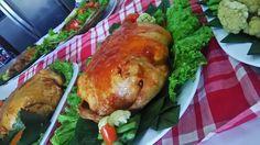 Ayam kodok original.