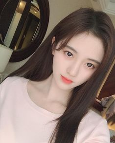 Pretty Korean Girls, Korean Beauty Girls, Cute Korean Girl, Cute Asian Girls, Asian Beauty, Cute Girls, Korean Girl Photo, Girl Korea, Lovely Girl Image