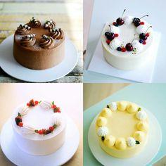 61 ideas for cupcakes decoration diy flowers sweets Mini Cakes, Cupcake Cakes, Cupcakes, Cake Icing, Buttercream Cake, Neon Cakes, Cute Desserts, Dessert Decoration, Cake Decorating Techniques