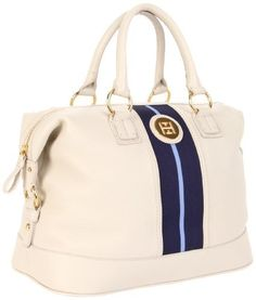 Tommy Hilfiger Th Logo Pebble Leather Bowler Satchel by Tommy Hilfiger $99.00  www.your-online-fashion.com