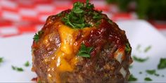 Two Delicious Worlds Collide with these Mac and Cheese Stuffed Meatballs