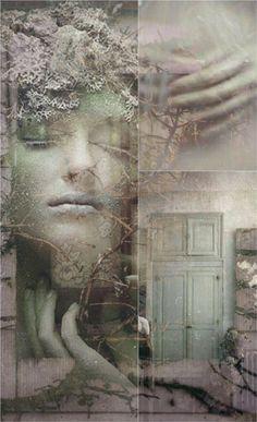 Mauve....Chiara Anna....L'alba si risveglia..con le sue radici toccando la nostra anima..Entra a far parte di noi..aprendo la porta della nostra vita
