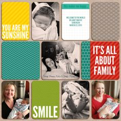 Becky Higgins Digital Project Life Slate edition
