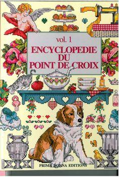 Gallery.ru / Фото #24 - Encyklopedia Punto de Cruzo vol.1 - mula...FREE BOOK AND PATTERNS!!