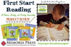 Farm Fresh Adventures: First Start Reading: Phonics, Reading and Printing {Curriculum Review}