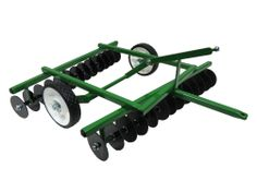 Offset Green Metal Disk for Pedal Tractors
