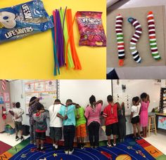 Vertebrates and Invertebrates: Make a Spine! Students will see how the backbone of a vertebrate animal is made up of both bones (mints) and cartilage (gummies) which allow it to bend and move. The best part -- it doubles as a tasty treat!