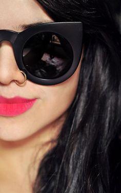 eyewear round circle cat eye - Buscar con Google