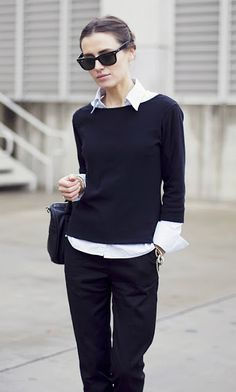 Sweaters:  How to make them look interesting