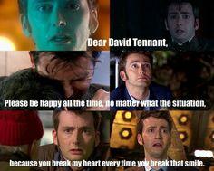 Dear David Tennant,
