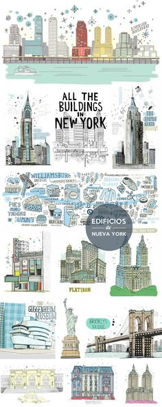 52 ideas for travel journal new york nyc Voyage Usa, Voyage New York, Empire State Of Mind, Empire State Building, New York Tipps, New York City, New York Neighborhoods, New York Buildings, I Love Nyc