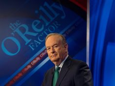 Anti-Bill O'Reilly protesters gathered outside entrance to Fox News headquarters