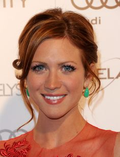 Brittany Snow; I believe no matter the color she changes her hair she's still flawless.