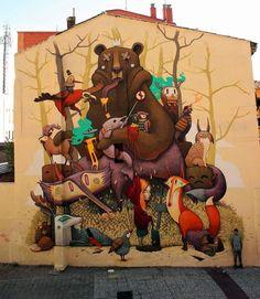 Zaragoza, capital mundial de los murales y el arte urbano