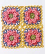 Connect the Shapes Crochet Motifs Book