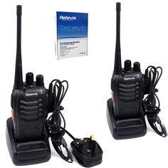 Türsprechstelle Sicherheit & Schutz Mini Walkie Talkie Uhf 400-470 Mhz 2 W 1500 Mah Digitale Zwei Weg Radio Hf Transceiver Radio