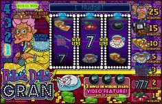Billion Dollar Gran by @microgaming  will have you in stitches by the time grandma finishes her round of knitting.