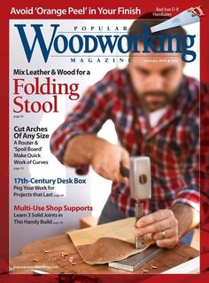 Popular Woodworking Magazine, February 2018 | ShopWoodworking