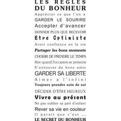 stickers, mural, texte, humour, maison, bonheur, porte, deco, original, géant, pas cher Motivational Words, Words Quotes, Inspirational Quotes, Quotes Quotes, French Quotes, Spanish Quotes, Positive Mind, Positive Attitude, Quote Citation
