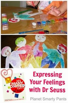 Dr Seuss Books Teach to Express Feelings: From Planet Smarty Pants #parenting #bookactivities