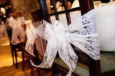 Lace Chair ties