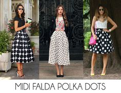 #Midi #Skirt #Trend #LinioFashionPeru #PolkaDots #LadyLike