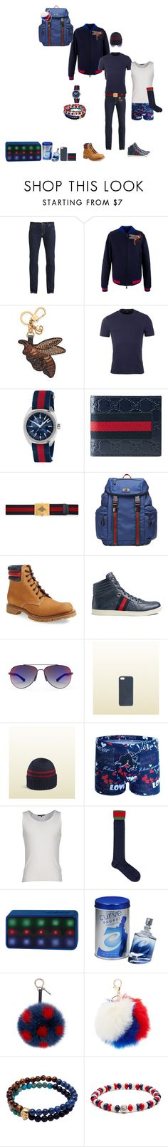 """""""Bee"""" by k-harm-1220 ❤ liked on Polyvore featuring Nudie Jeans Co., Gucci, Lyrix, Liz Claiborne, Fendi, Charlotte Russe, Nialaya, Babette Wasserman, Tateossian and men's fashion"""
