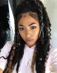 20 Beautiful Box Braids for Durable Hair Style - My Hairstyle, Girl Hairstyles, Braided Hairstyles, Dreadlocks, Natural Hair Tips, Natural Hair Styles, Beautiful Braids, Girls Braids, Protective Hairstyles