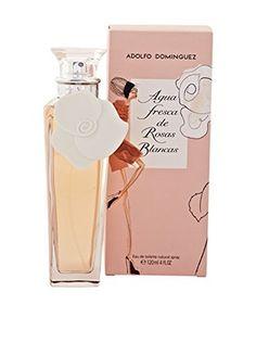 Adolfo Dominguez Eau De Toilette Donna Agua Fresca Rosas Blancas 120 ml