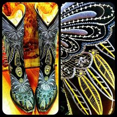 Old Gringo Lakota Cowgirl Boots in black at rivertrailmercantile.com! #LOVE