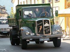 ○ SAURER GIGANT 230 #Adolf_Saurer_AG #Saurer+GIGANT+230 #CH Busse, Old Trucks, Chevy, Antique Cars, Jeep, Transportation, Classic, Vehicles, Truck