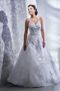 Kati Szalon- A-vonalú menyasszonyi ruha, csipkés Wedding Dresses, Fashion, Bride Dresses, Moda, Bridal Gowns, Fashion Styles, Weeding Dresses, Wedding Dressses, Bridal Dresses