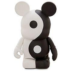Vinylmation Theme Park Favorites Series 3'' Figure -- Yin and Yang