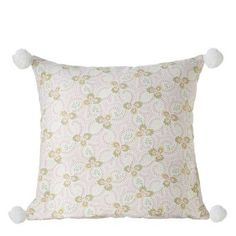 CBK Floral Cotton Throw Pillow (Set of 2)