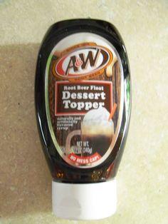 DP Museum Enterprises Inc. - A & W Root Beer Float Dessert Topper $4.95