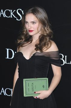Natalie Portman in Dior with an Olympia Le-Tan clutch at the NYC premiere of Black Swan, November 30th, 2010