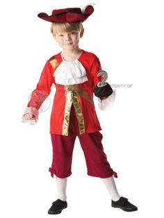 Child Pacific Pirate Swashbuckler Buccaneer Costume