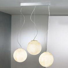 Tre Lune Linear Suspension by In-Es Art Design
