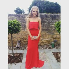 What a beauty! @francahill looked stunning in #JarloLondon #Blaze maxi dress from our #Holiday #Collection for her #Prom2015! Thank you for sharing!