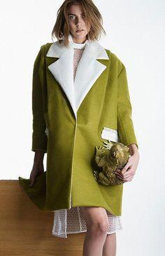 Traveler Oversize Coat. via The Cools