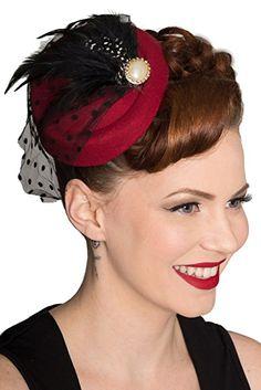 1950s Hats: Pink, Fascinator, Wedding hat