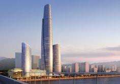 Kohn Pedersen Fox Associates: Projects: Chongqing International Trade and Commerce Center